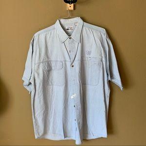 Short sleeve button down - $20 XL
